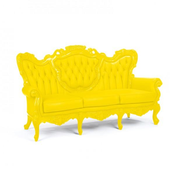 Madame Sofa lemon yellow