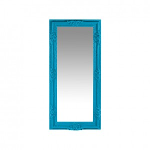 Regal Mirror cyan blue