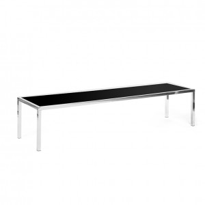 bentley coffee table black plexi