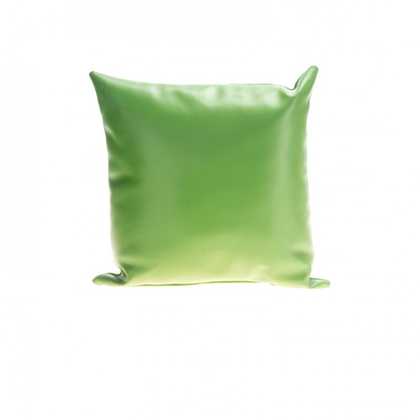 Pillow - Leather - Green