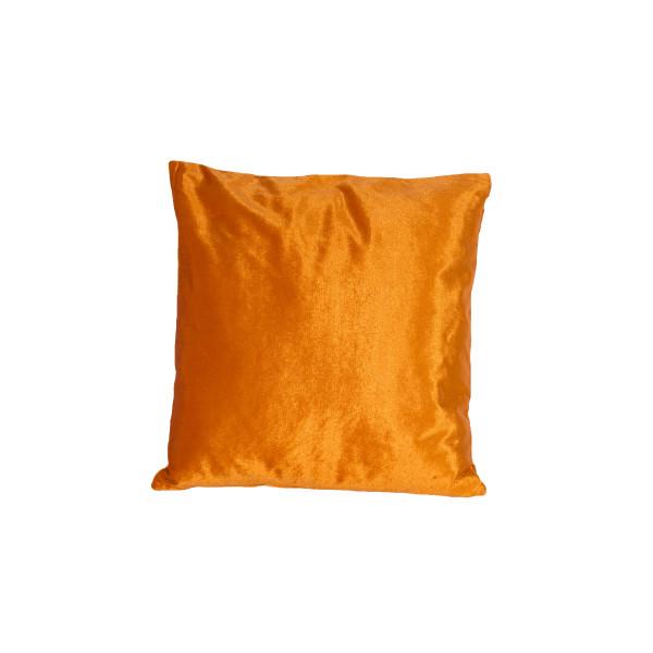 orange velvet cushion1